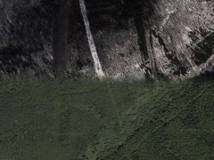 Grass ski passage (Before / after) - cache image