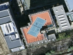 Tennis match from the sky (People)