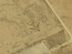 Geoglyph for plane (Sign) - cache image