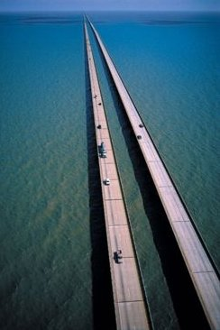 The longest bridge in the world (Record) - similarity image