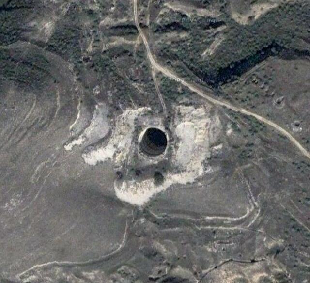 Glory hole google earth-7750