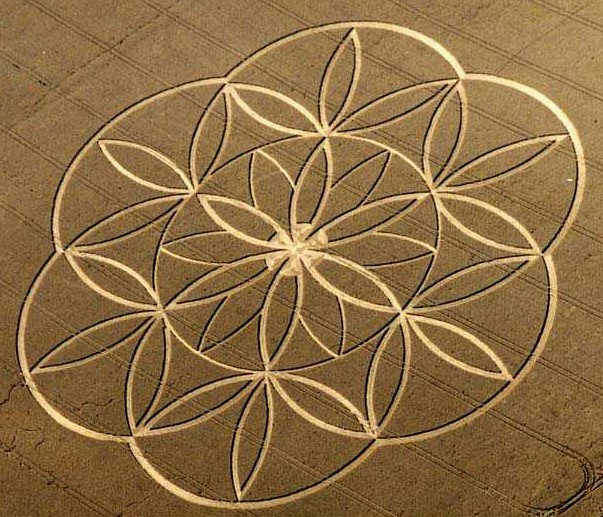 Indian Arrow crop circle (Crop circle) - similarity image