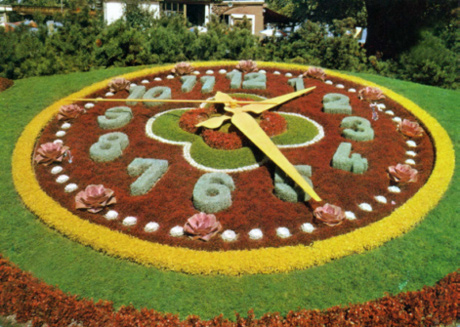 Floral clock (Art) - similarity image