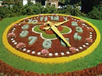 Floral clock (Art) - similarity