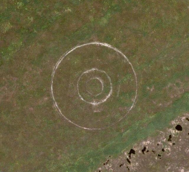 how to draw circle in google earth