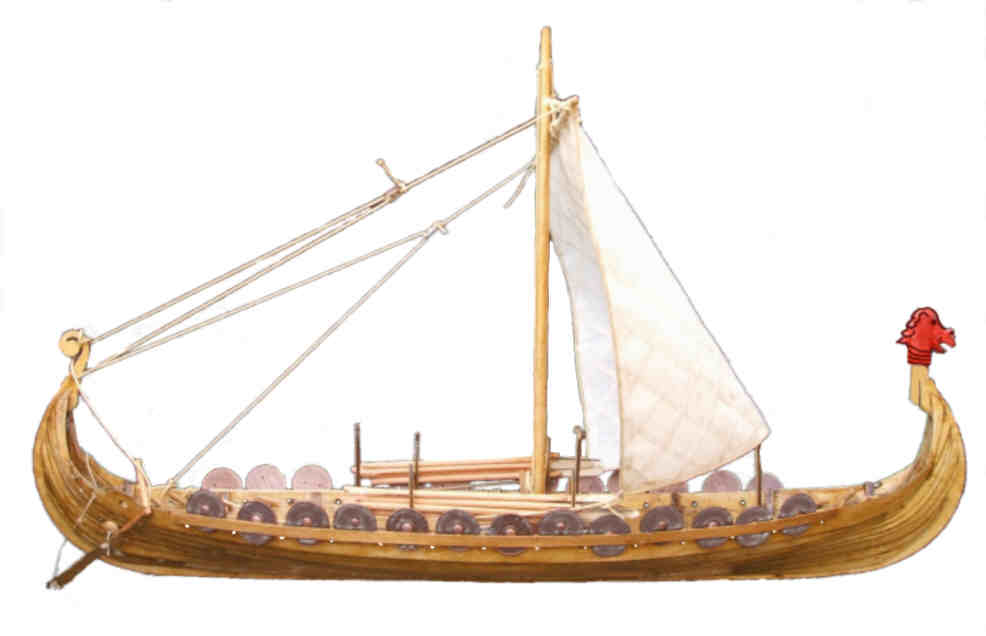 Viking boat (Sign) - similarity image