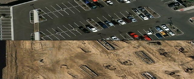 Before after parking
