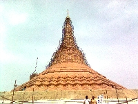 Global Vipassana Pagoda - the largest stone dome in the world (Monument) - similarity