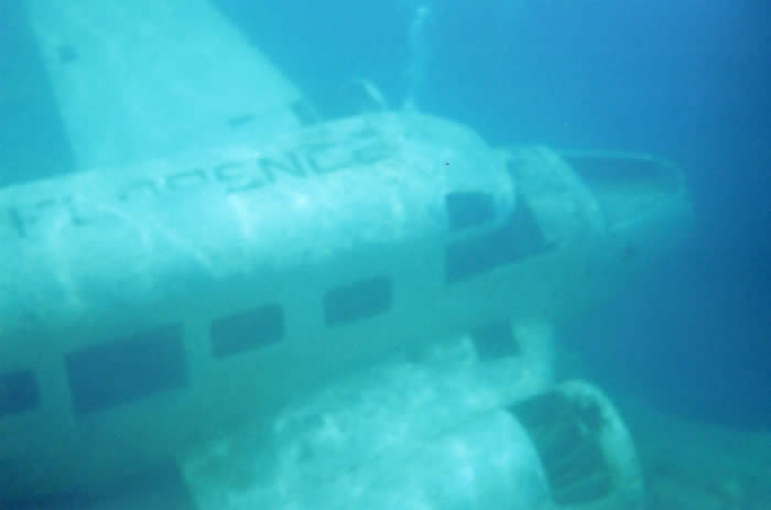Under water plane (Event) - similarity image