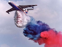 Tricolor plane (Transportation) - similarity