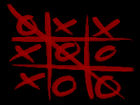 Oldest Tic tac toe on earth (geoglyph) (Human made) - similarity