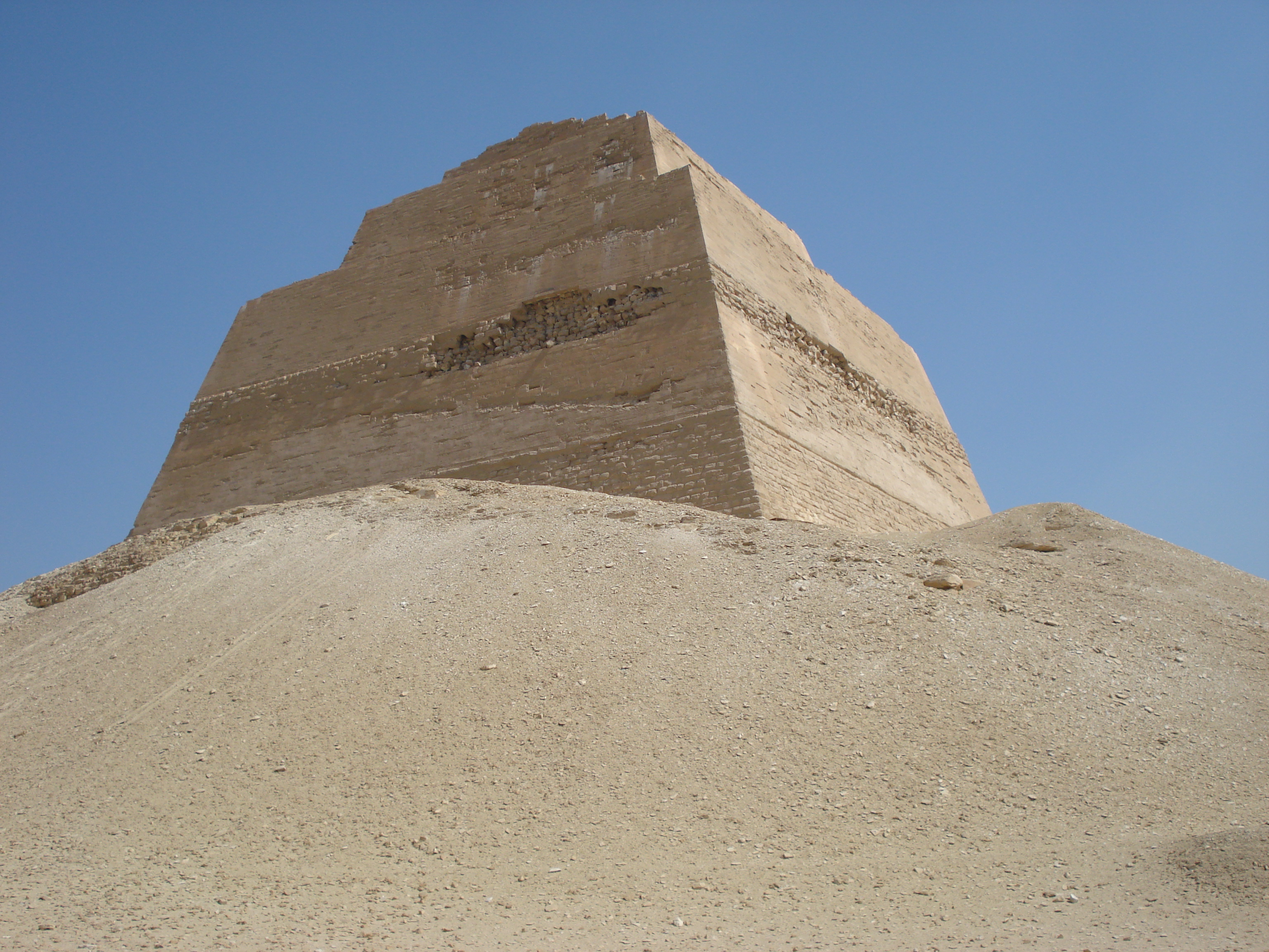 Meidum pyramid (Construction) - similarity image