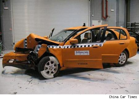 Crashed and tested cars (Crash) - similarity image